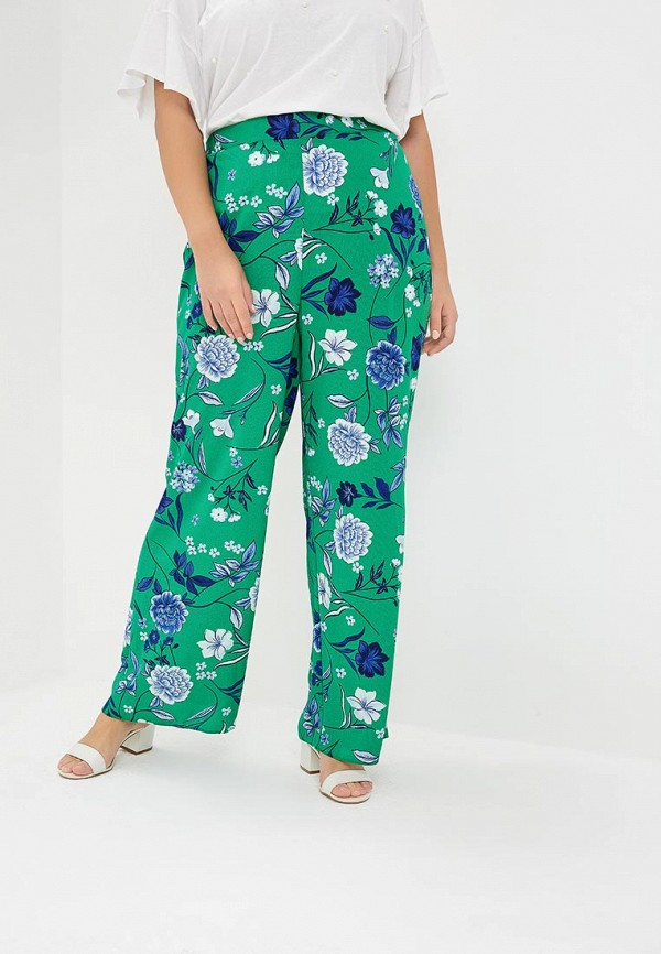 женские повседневные брюки evans, зеленые