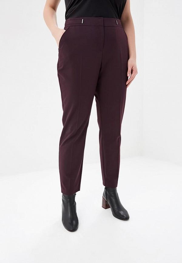 женские повседневные брюки evans, фиолетовые