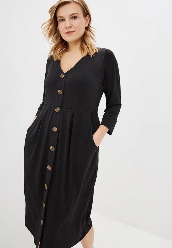 женское повседневные платье evans, черное