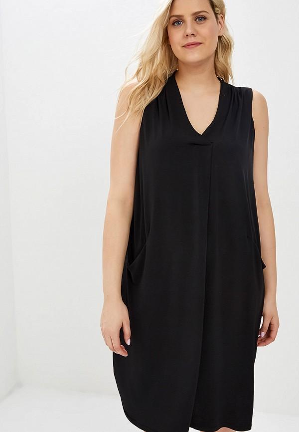 Фото - женское платье Evans черного цвета