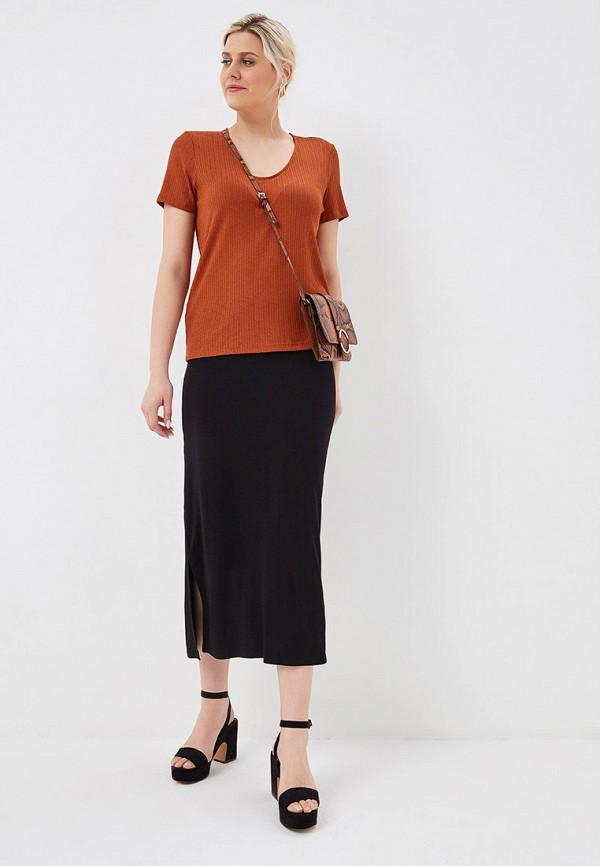 Фото 2 - женскую юбку Evans черного цвета