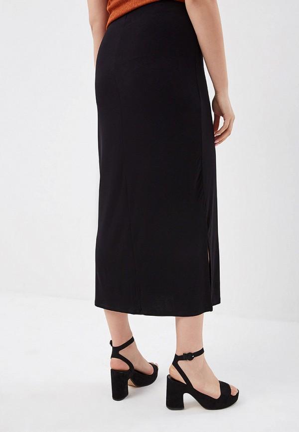 Фото 3 - женскую юбку Evans черного цвета