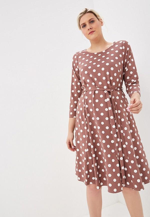 Фото - женское платье Evans коричневого цвета