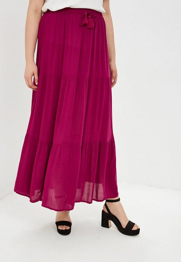 женская юбка evans, фиолетовая