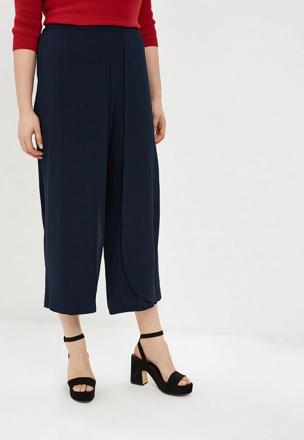 женские брюки клеш evans, синие