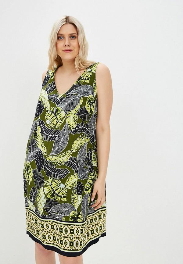женское повседневные платье evans, зеленое