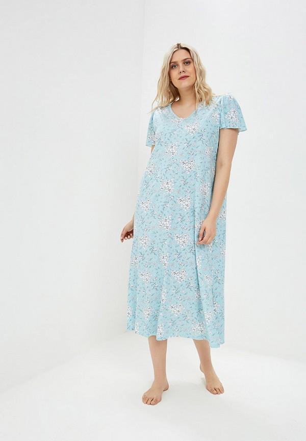 женские сорочка ночная evans, голубые