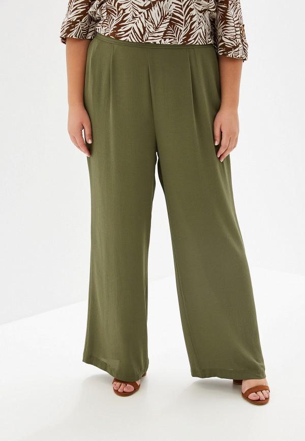 женские повседневные брюки evans, хаки