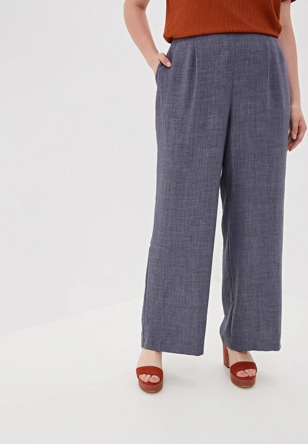 женские повседневные брюки evans, синие