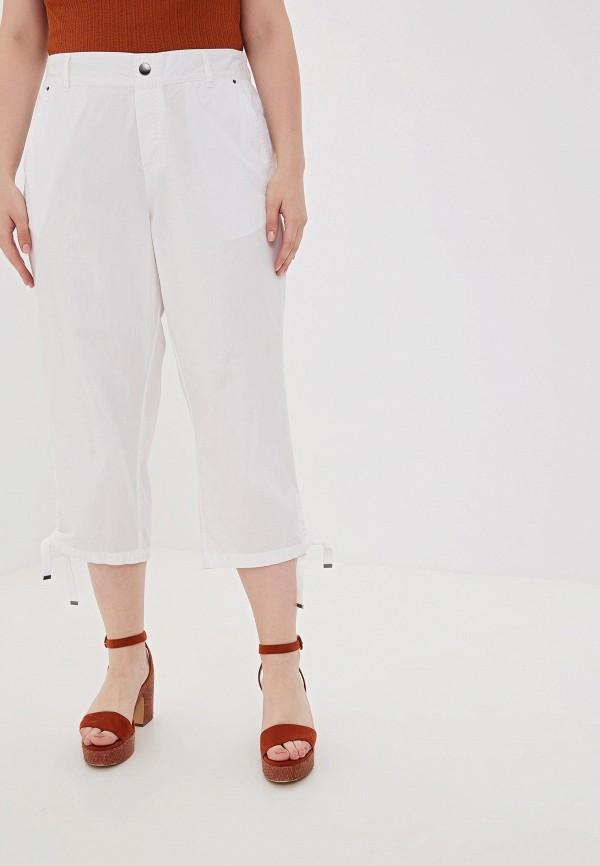 женские повседневные брюки evans, белые