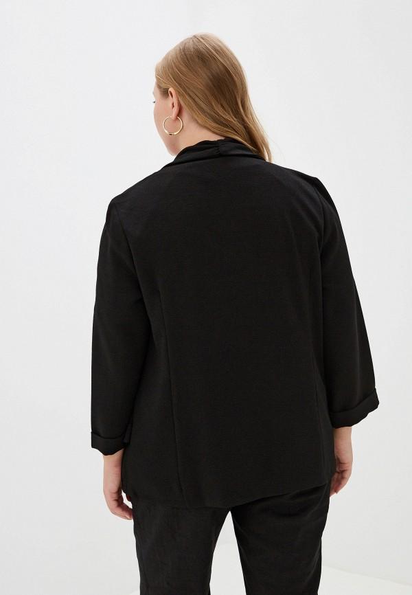 Фото 3 - женский жакет Evans черного цвета