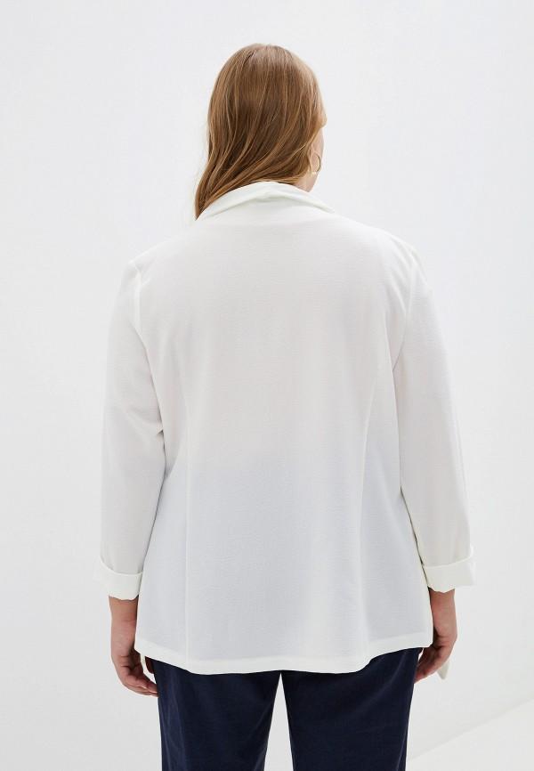 Фото 3 - женский жакет Evans белого цвета
