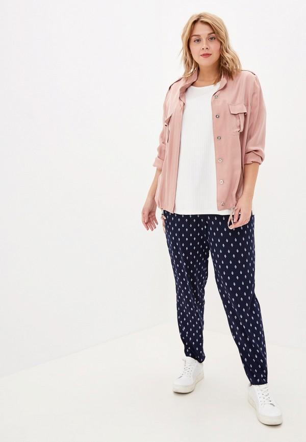 Фото 2 - женские брюки Evans синего цвета