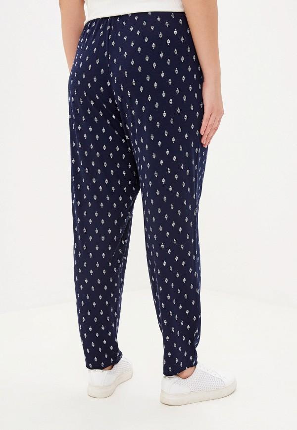 Фото 3 - женские брюки Evans синего цвета