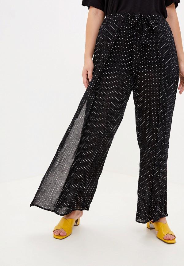 женские брюки клеш evans, черные