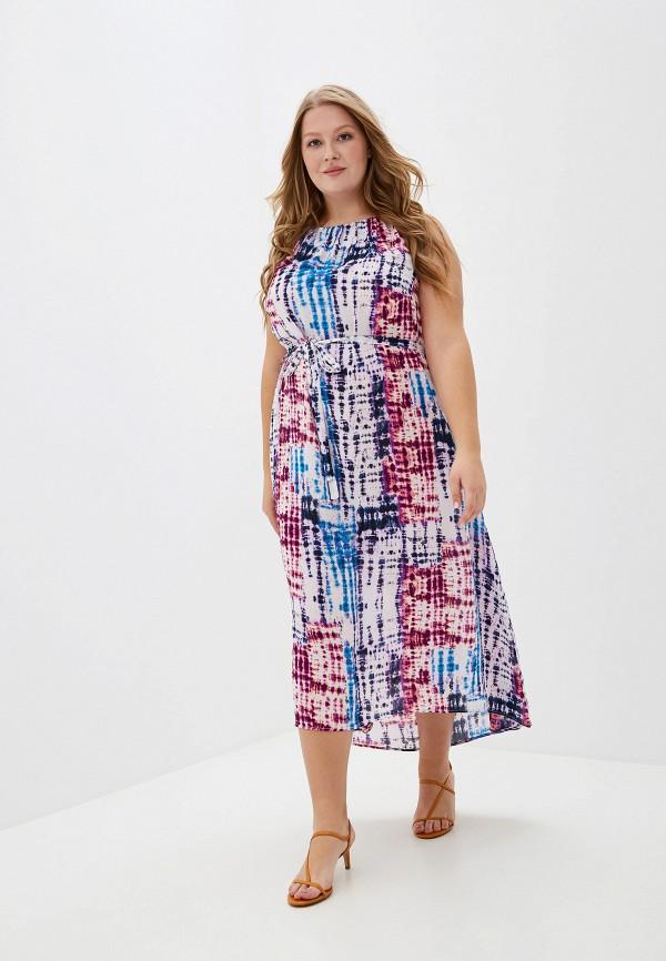 Фото - женское платье Evans розового цвета