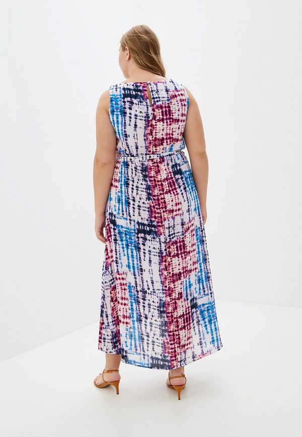Фото 3 - женское платье Evans розового цвета