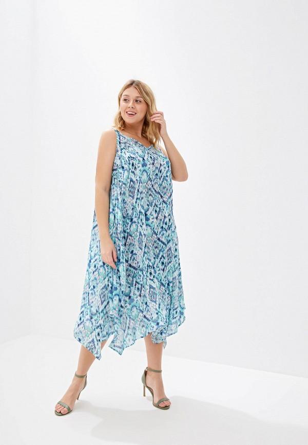 Фото - Женское платье Evans бирюзового цвета