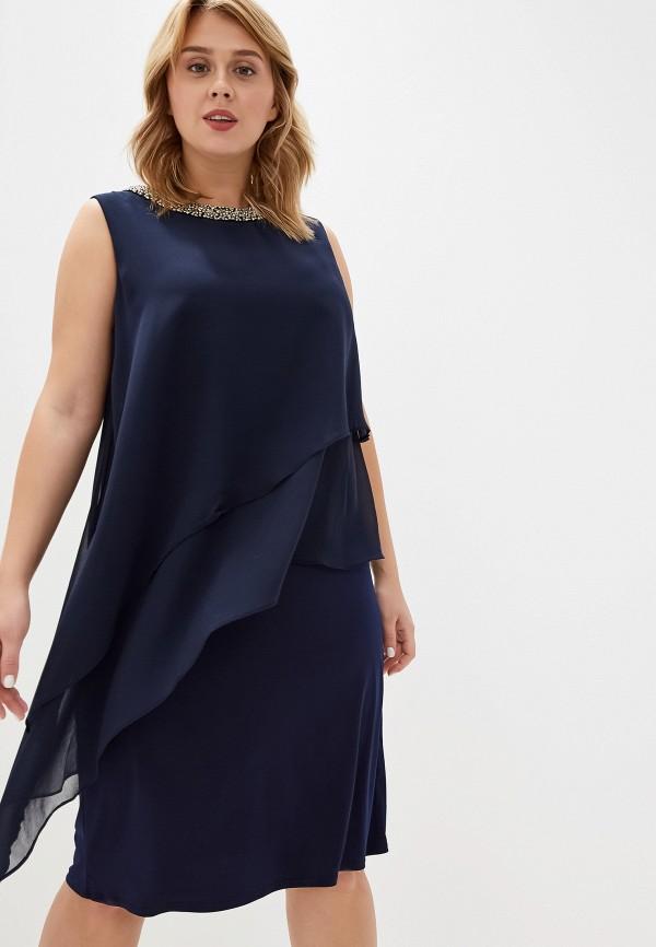 женское повседневные платье evans, синее