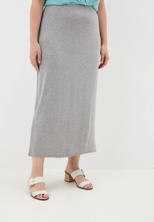 женская юбка evans, серая