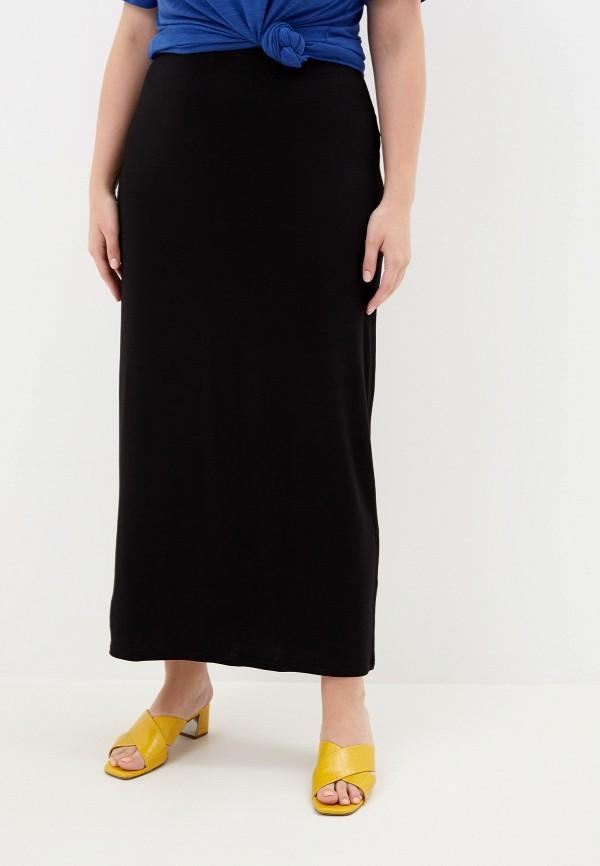 женская прямые юбка evans, черная