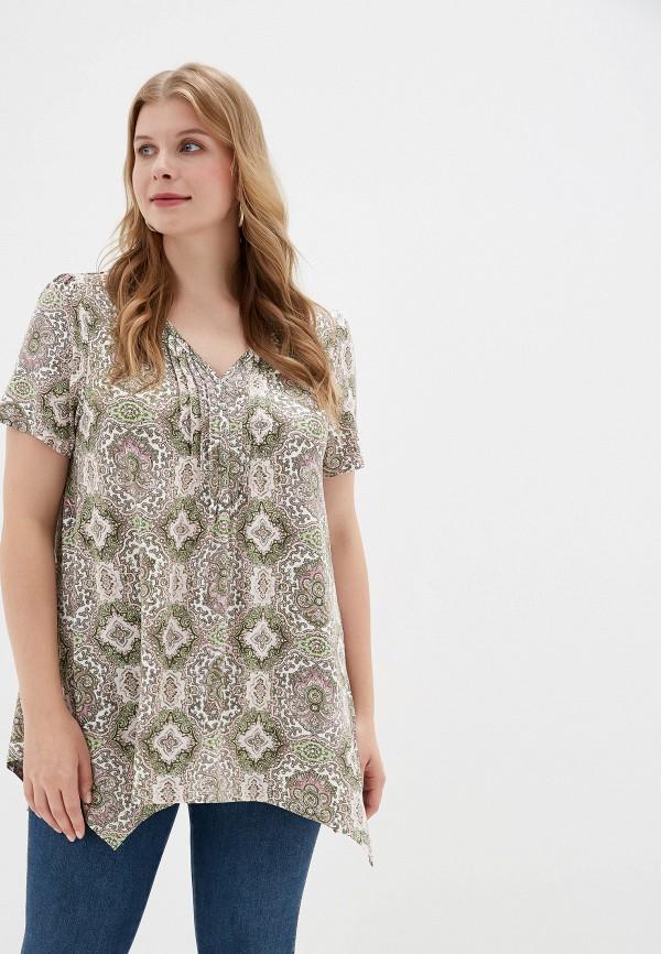 женская футболка evans, разноцветная