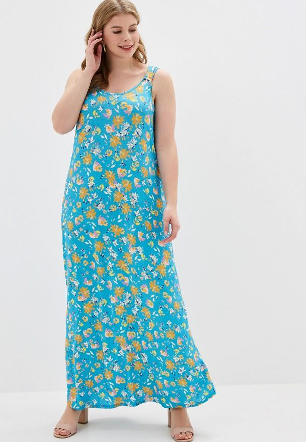 женское платье evans, голубое