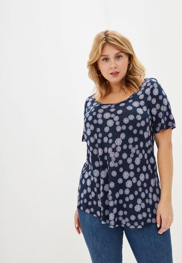 женская футболка evans, синяя