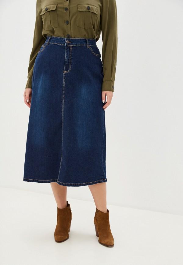 женская юбка evans, синяя