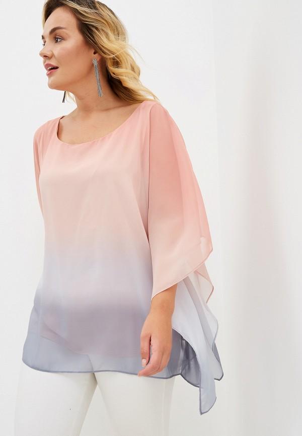 Фото - женскую блузку Evans розового цвета
