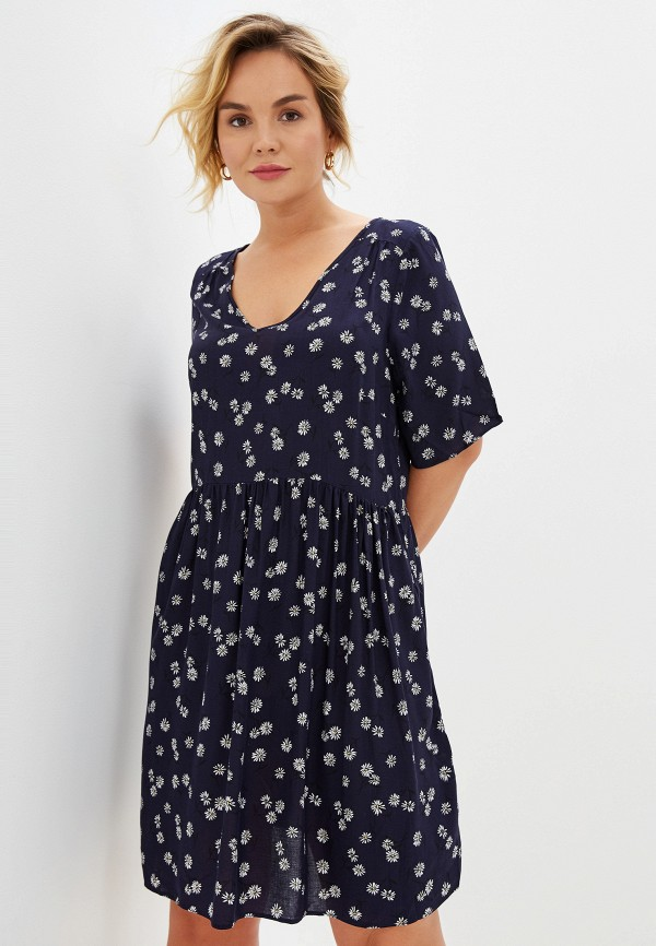 Фото - женское платье Evans синего цвета