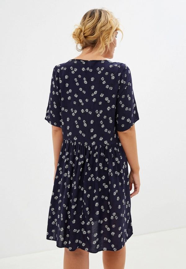 Фото 3 - женское платье Evans синего цвета