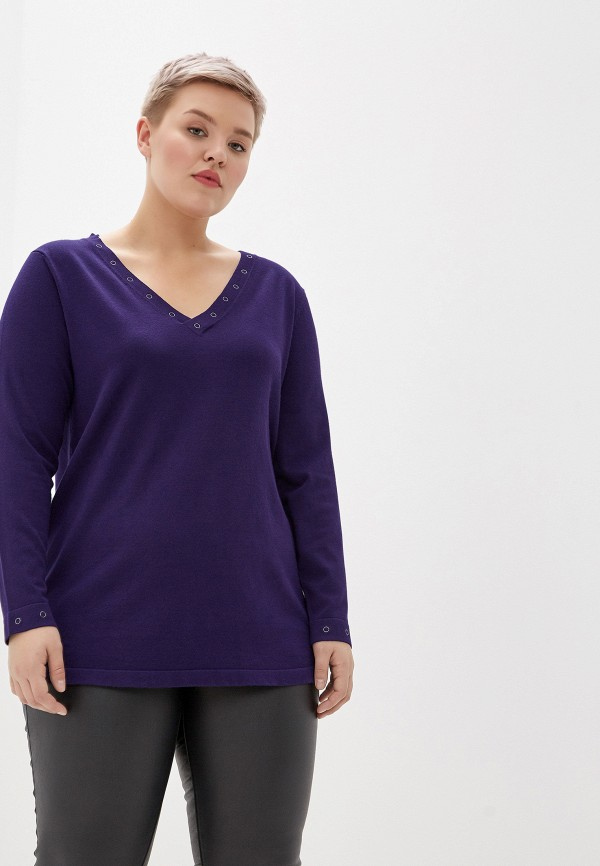 женский пуловер evans, фиолетовый
