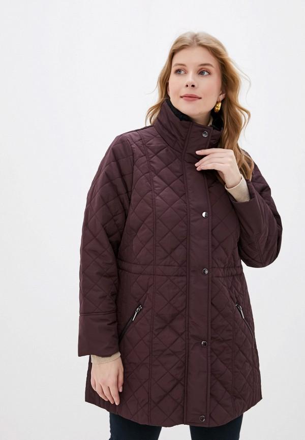 женская куртка evans, бордовая