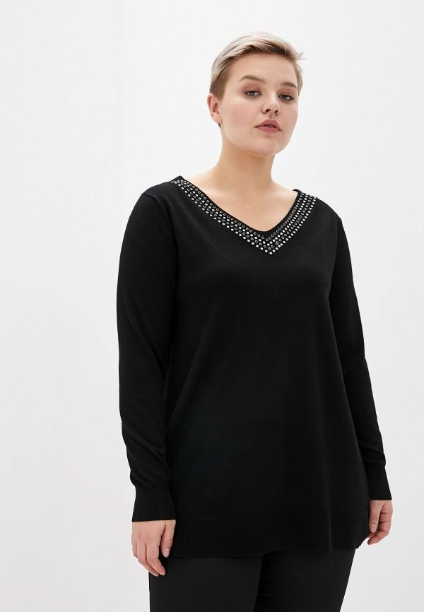 женский пуловер evans, черный
