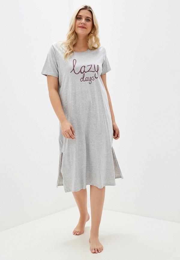 женское платье evans, серое