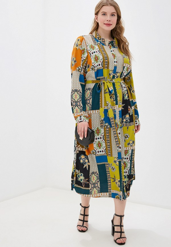 женское повседневные платье evans, разноцветное