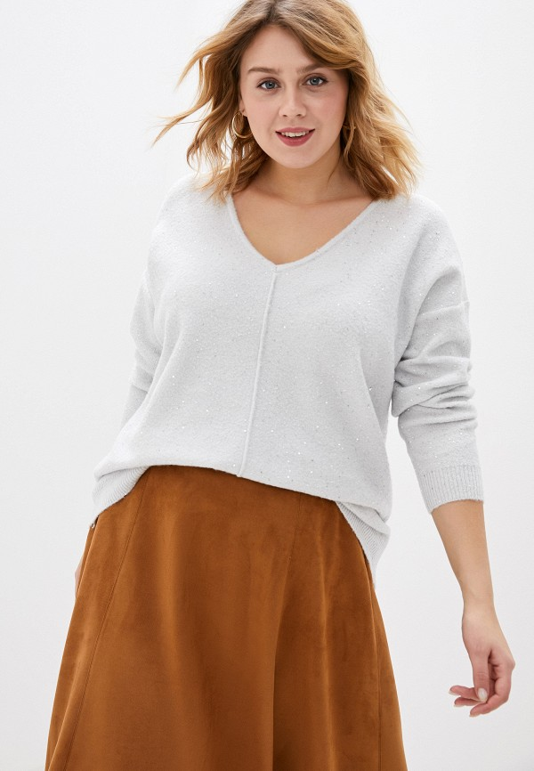 женский пуловер evans, белый