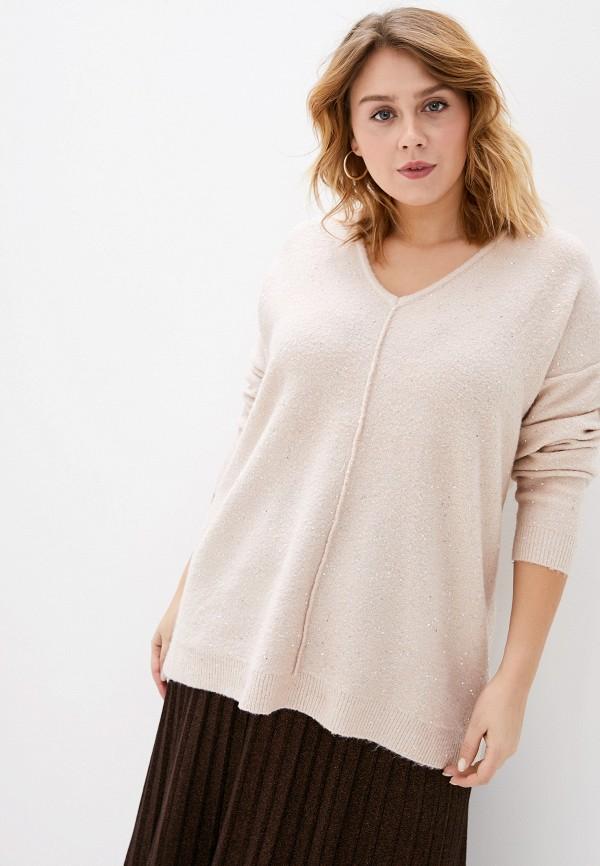 женский пуловер evans, розовый