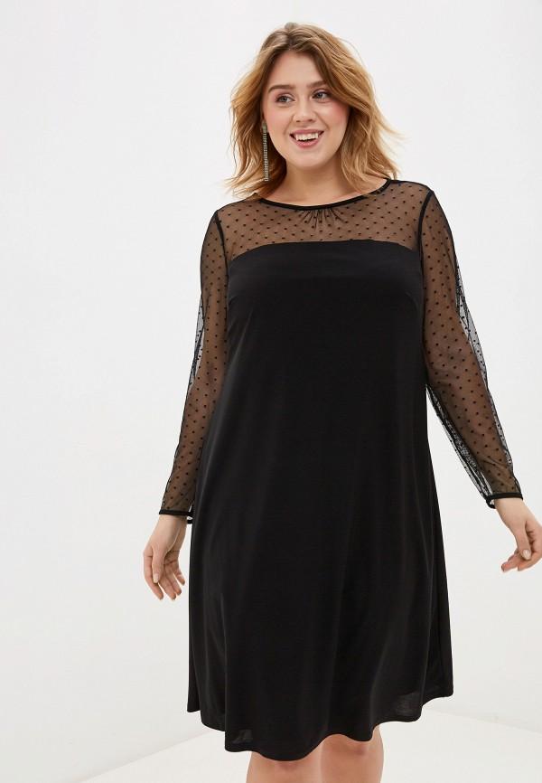 женское вечерние платье evans, черное