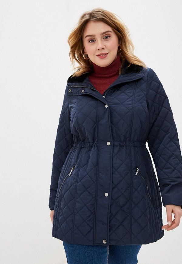 женская куртка evans, синяя