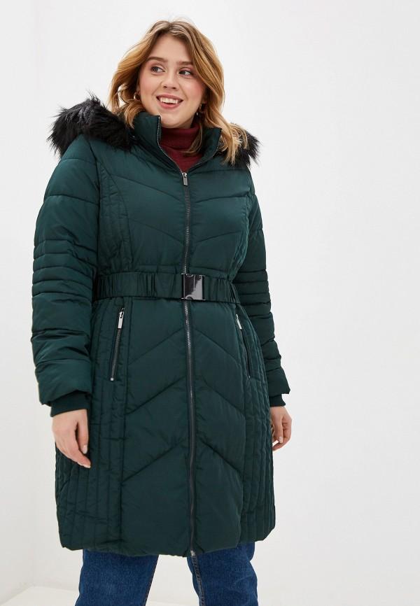 женская куртка evans, зеленая