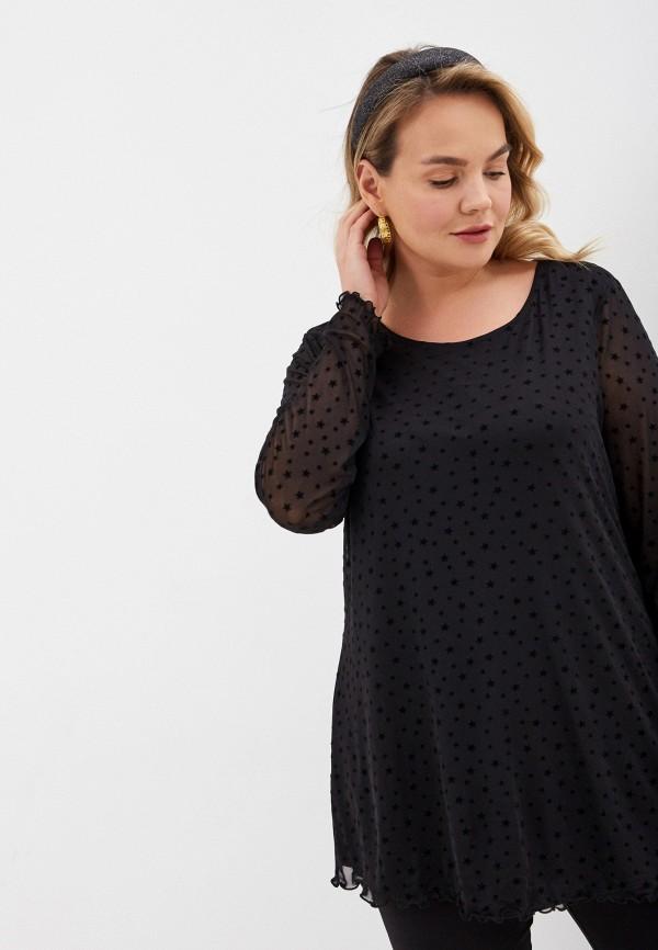 женская блузка evans, черная