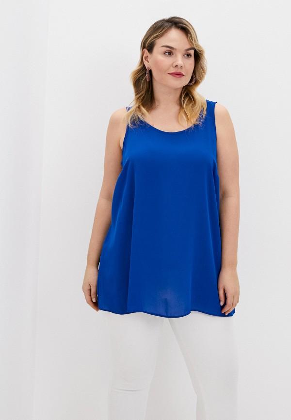 женский топ evans, синий