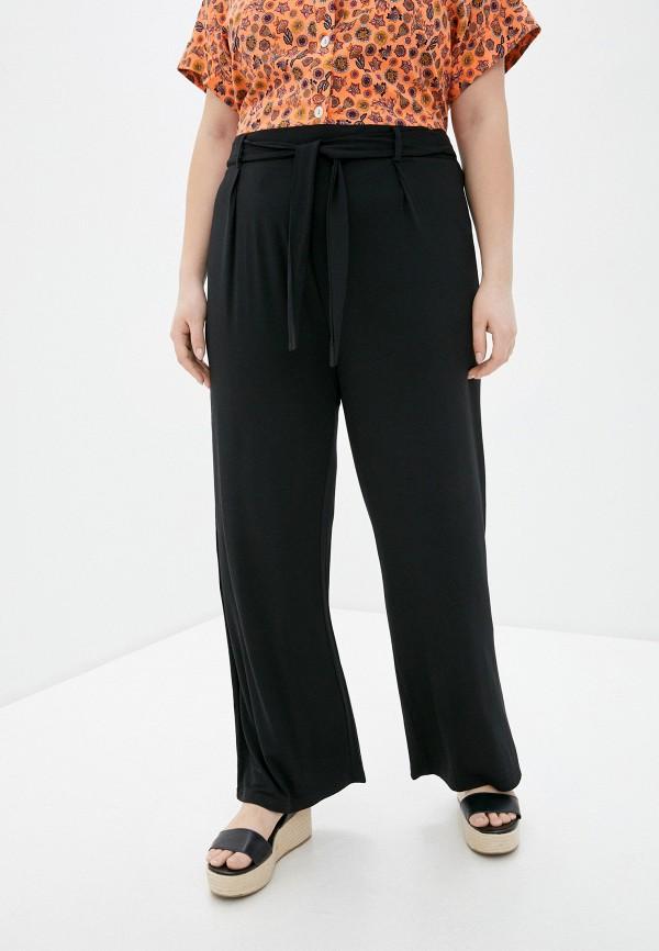 женские прямые брюки evans, черные