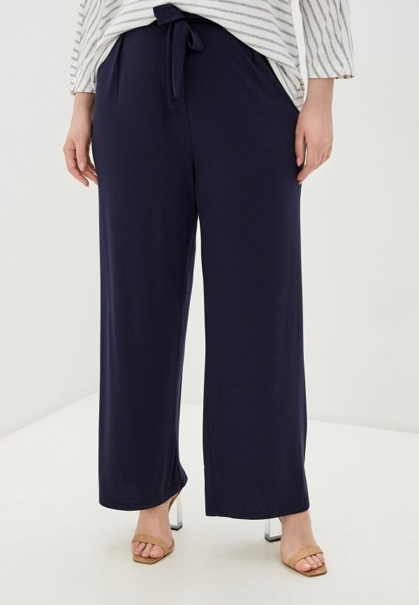 женские прямые брюки evans, синие