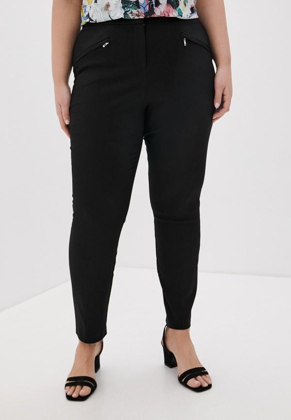 женские зауженные брюки evans, черные