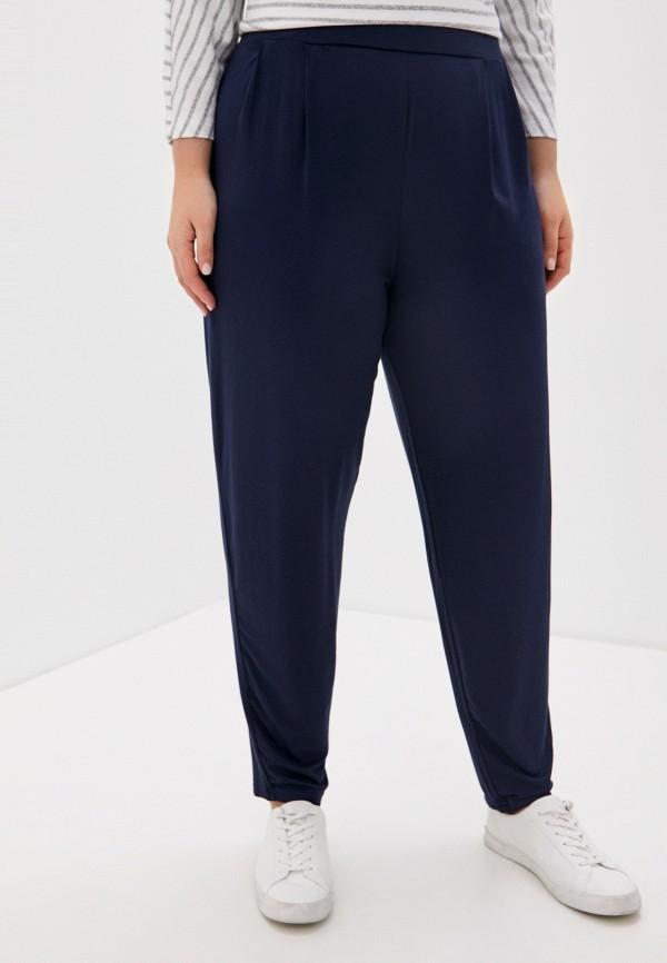 женские зауженные брюки evans, синие