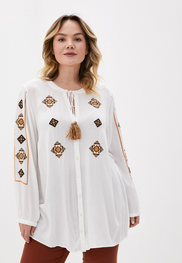 женская блузка evans, белая