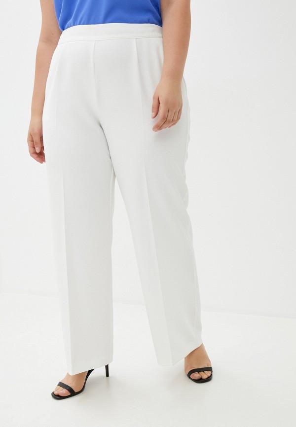 женские классические брюки evans, белые